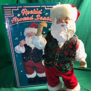 Rockin' Around Santa Rock Santa Collectibles
